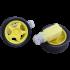 Motor Gearbox + Roda Kuning