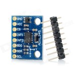 GY-291 Sensor Accelerometer (ADXL 345) – Triple-Axis/3 Axis Accelerometer, Acceleration of Gravity Tilt Module for Arduino