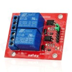 2 CHANNEL RELAY Module for Arduino