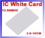 IC WHITE CARD For rfid