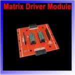 RED LED MATRIX DRIVER MODULE