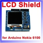 Nokia 6110 LCD shield for arduino