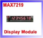 MAX7219 DISPLAY MODULE dot matrix