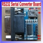 RS232 serial converter board