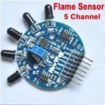 INFRARED Flame Detector sensor 5 Channel (Sensor Api 5 Channel)