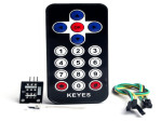 IR Infrared Robot Remote Control Kit (Black Color)