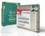 SIM 908 GPRS + GSM + GPS / SIMCom SIM908 GSM+GPS Quad-band module