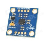 GY-52 MPU-6050 3-Axis Gyroscope + Triaxial Accelerometer 6-Axis Stance Tilt Module for Arduino