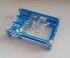 RASPBERRY PI B+ CASE TRANSPARENT BLUE COLOR