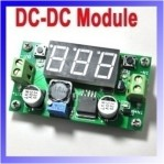 DC-DC MODULE LM2596S with display