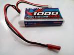 Battery LiPo 7.4V 1000mA 20C 2 cel Merk Haiyin