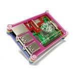 Rainbow Enclosure Case r for Raspberry Pi B+