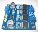 Double motor drive BTN7971B module 60A max