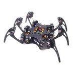 Aluminium Hexapod Spider 18dof six Legs Robot Frame Kit Fully Compatible with Arduino (Frame Only)