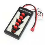 2S-6S Lipo T Plug Connector Parallel Charging Board Balance