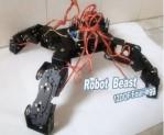 Spider Robot 4 Legs 12 DOF Robot Black Bracket Stent Accessory (no servo) new