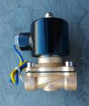 Solenoid Valve Kuningan 1/2 Inchi 12VDC Normaly Closed