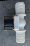 Solenoid Valve Plastik AC220V 1 Inchi