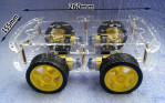 4 WD sasis robot Arduino / 4WD chasis Robot Arduino