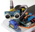 Robot Avoider Arduino / Robot Arduino Avoider / Robot Penghindar Halangan Menggunakan Arduino