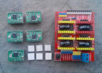 CNC Shield V3 Engraving 3D Printer + 4pcs A4988