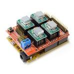 ARDUINO CNC SHIELD V3 + 4 Pcs A4988 POLOLU DRIVER arduino