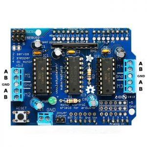 Motor driver l293d shield untuk arduino