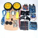 Robot arduino avoider avoidance smart car kit belum dirakit