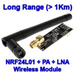 NRF24L01 with PA and LNA antena wireless module for arduino