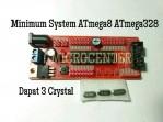 Minimum System ATmega8 atau ATmega328 / minsis mynsis atmega 8 atmega 328