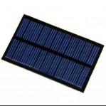 Solar Panel solar Cell mini untuk Powerbank smartphone hp 5v 1.1A 220Ma