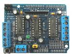 L293d Shield motor driver arduino / motor driver Shield l293d untuk arduino