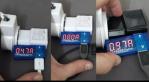 Voltmeter USB multimeter dc multitester ampere meter tegangan arus