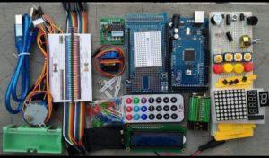 Arduino Mega 2560 starter kit compatible